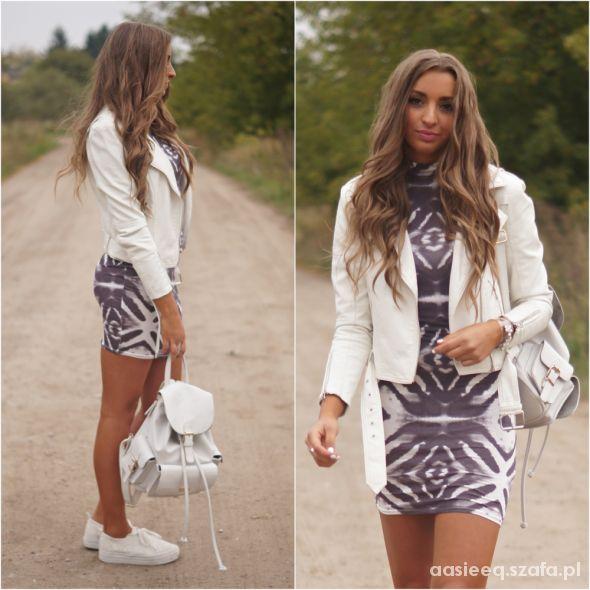 Blogerek Patterned Dress