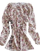Nowa bluzka tunika w kwiatki FLORAL