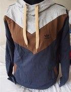 bluza bawełniana trzy kolorowa xl