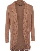 Sweter z warkoczem mohito