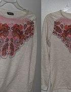 Nowość bluza melanż wzory rozmiar 42