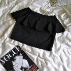 33 Czarna spódnica baskinka