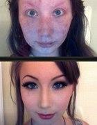 Moc makijażu