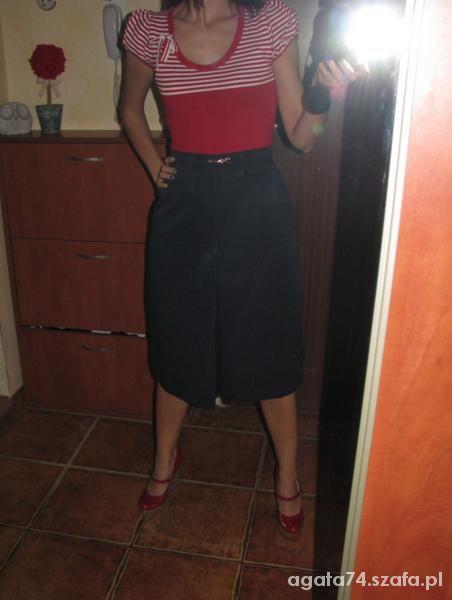 Do pracy spodnica w stylu vintage