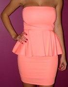 Sukienka neonowa Zara