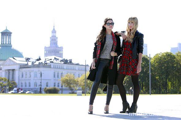 Blogerek Girls love tartan