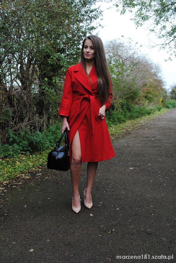 Mój styl The red coat