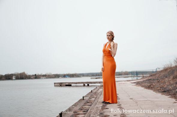 Eleganckie Pomarańcza