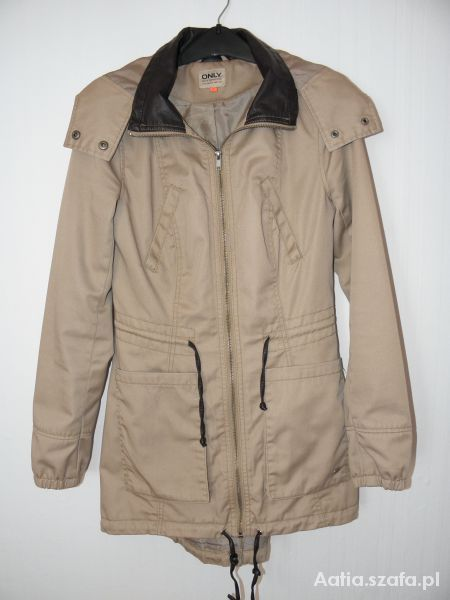 Beżowa parka ONLY