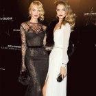 black & white dwie suknie wieczorowe