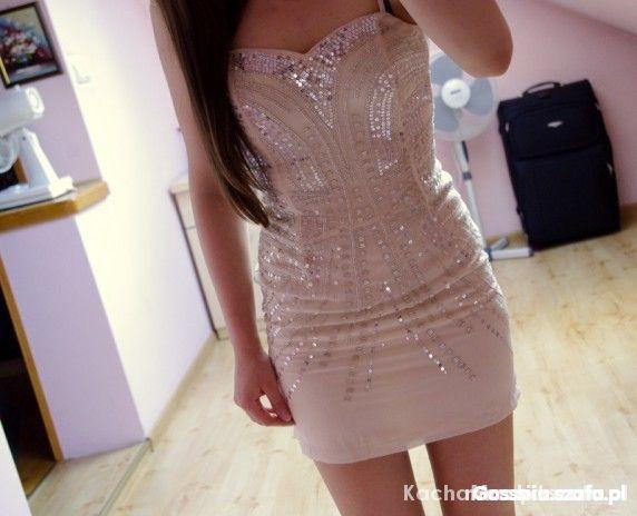 Eleganckie Sukienka cekinowa