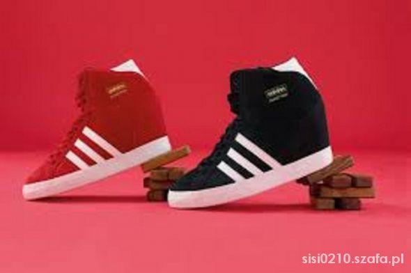 buty adidas damskie na koturnie