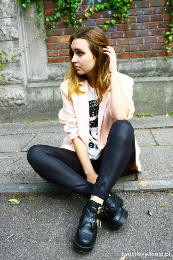 Mój styl Pink & Leather
