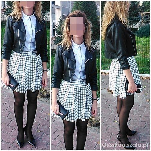 Eleganckie czarno biało