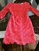 Megaaa cudna sukienka ażurkowa