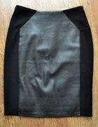 Skórzana spódnica h&m