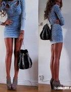 Sukienka Jeansowa H&M Fashion Against AIDS
