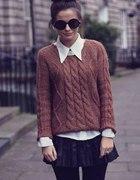 swetry warkocz