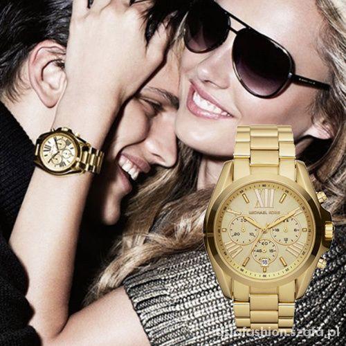 złoty zegarek Michael Kors mk5605