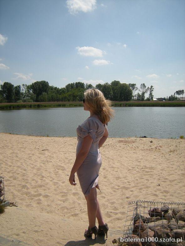 Eleganckie Szpilki na plaży