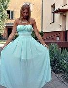 Nowa sukienka maxi 36 wesele