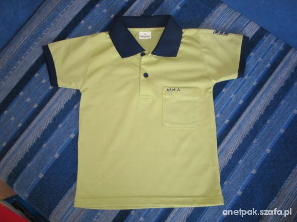 Koszulki, podkoszulki Gustowna koszulka polo rozm 92 wysyłka gratis