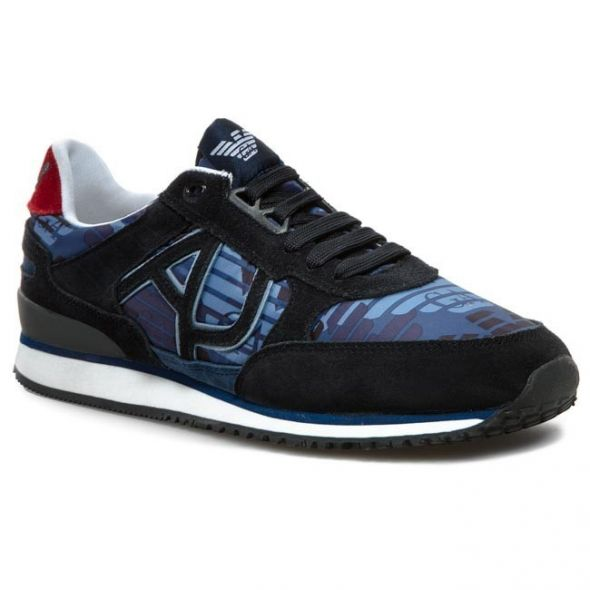 Sneakersy ARMANI JEANS V6512 16 P8 Blue...