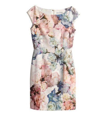 Sukienka w kwiaty H&M M