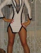 Sukienka biała mini...