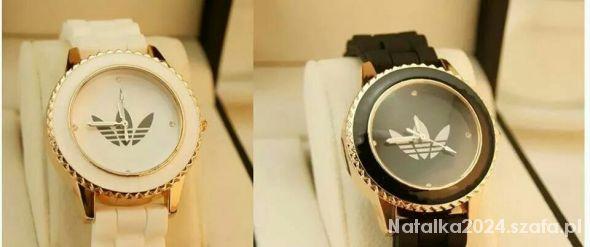 Biżuteria zegarek biały