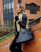 Mohito Jacket and Prada Bag