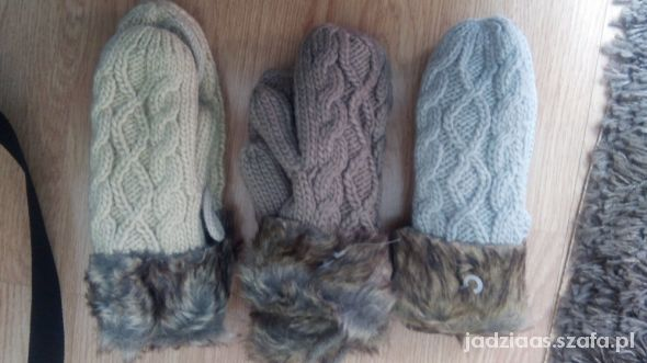 rękawiczki futerko