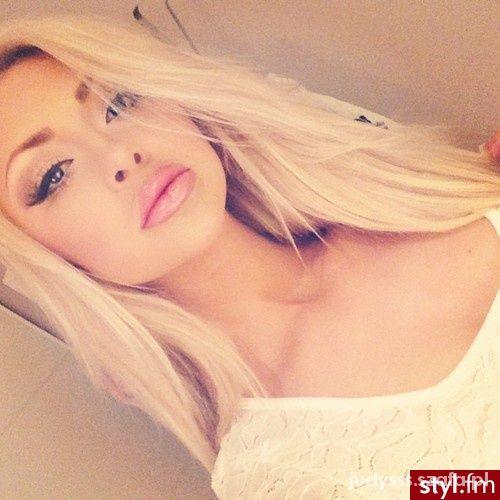 Codzienne piękna blondynka
