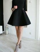 Moriss sukienka rozkloszowana czern rozmiar...