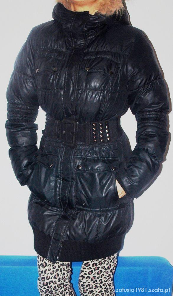 Śliczna kurtka płlaszcz pikowany RESERVED 38 M
