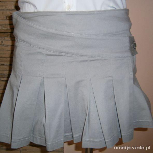 Spódnice szara spódniczka mini