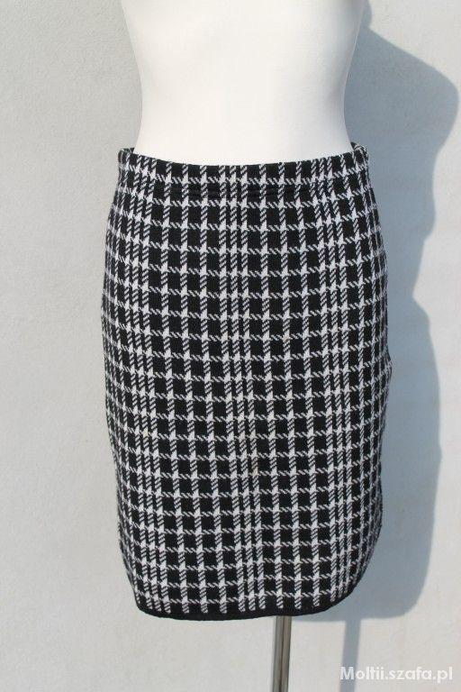 Spódnice włoska spódnica w pepitkę