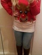 Świąteczny sweterek...