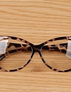 okulary panterka leopard kocie cat eyes