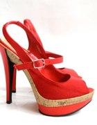 nowe sexsowne platformy czerwone 37 New Look
