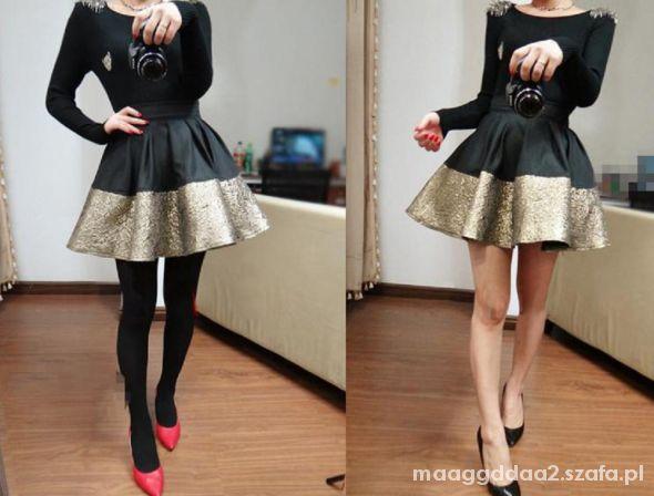 Spódnice Śliczna spódnica złota