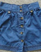 Super jeansowa spódniczka