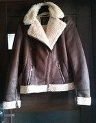 kurtka ramoneska kożuch kożuszek 42 zima