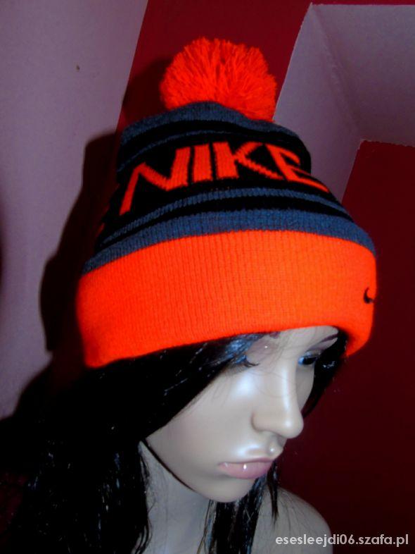 Zimowa czapka Nike damska męska dziecięca sport w Nakrycia