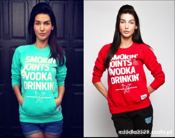 Ubrania Bluza smokin joints vodka drinkin