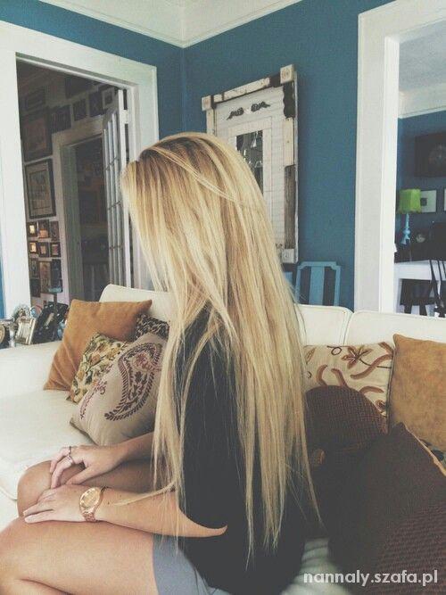 Fryzury BLONDE HAIR cuuudne