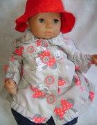 Disney kurtka roz 3 6 msc 62 68 cm
