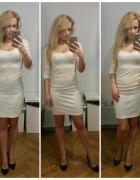 Złota sukienka na sylwestra...