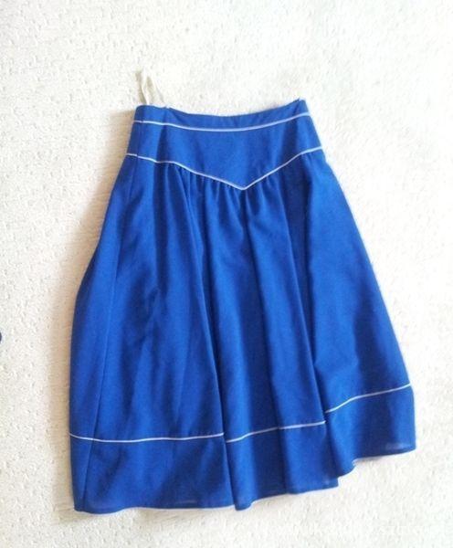 Spódnice Kobaltowa spódnica rozmiar 40