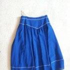 Kobaltowa spódnica rozmiar 40